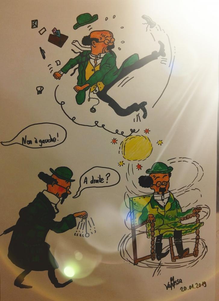 Professeur Tournesol par Van